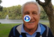 El gran José María Cañizares felicitó a OpenGolf por su 10º aniversario con un cariñoso mensaje (VÍDEO)