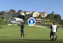 El Golf es duro… Justin Thomas (4 del mundo) pegó uno de los peores sockets que se han visto (VÍDEO)