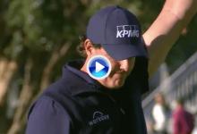 ¡Phil, qué calidad! Alucinante lectura de putt del americano en el 10 del Riviera para eagle (VÍDEO)