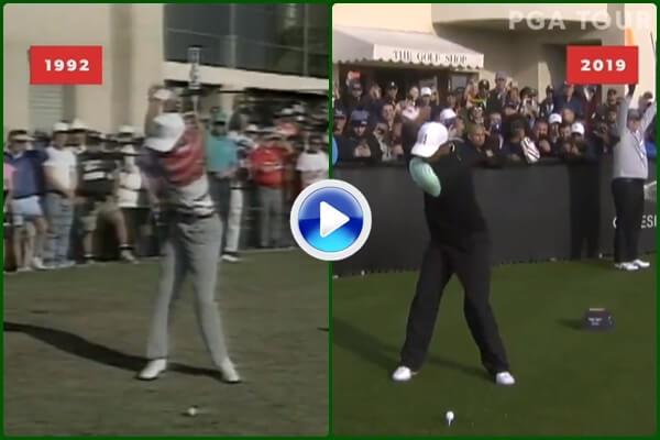 Compare el swing de Tiger Woods de 1992 con el de este 2019 con el que ganó el Masters de Augusta