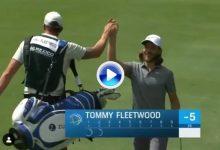El inicio soñado para cualquier jugador. Fleetwood anotó ¡2 eagles! en sus 2 primeros hoyos (VÍDEO)