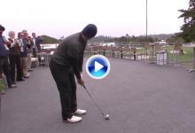 El ex jugador de fútbol americano Tony Romo puso en pie Pebble Beach con este golpe (VÍDEO)