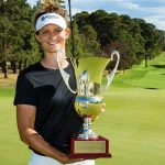 19 03 03 Anne Van Dam campeona en el ActewAGL Canberra Classic del Ladies European Tour