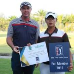 19 03 08 Dongmin Kim campeon en el Third Global Qualifying del PGA Tour China