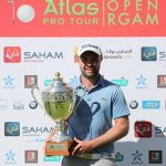 19 03 09 Edouard Dubois campeon en el Open Royal Golf Anfa Mohammedia del Pro Golf Tour