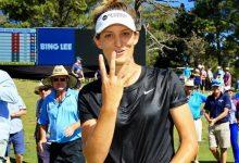 Noemí Jiménez se queda muy cerca del Top 10 en Canberra el día que Van Dam logra su 4º título LET