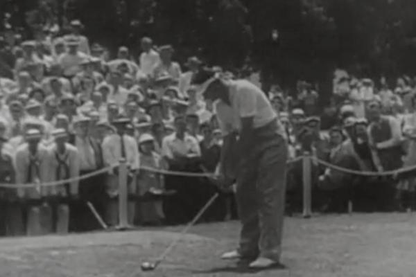 ¿Recuerdas… cuando el NO-DO nos presentó en 1942 el  Golf con Byron Nelson como referencia?