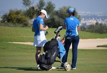 Candice Mahe y Alessia Nobilio, finalistas en la Copa S.M. La Reina que se celebra en Zaudín Golf
