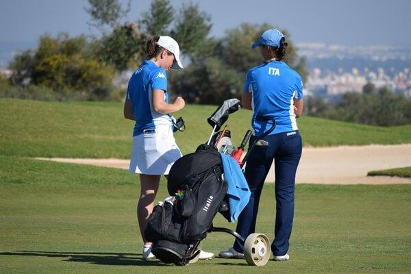 Una de las semifinales tuvo color italiano, entre Alessia Nobilio y Benedetta Moresco
