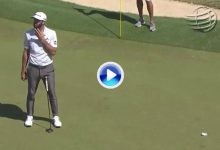 El Golf es duro… Es muy posible que Vd. jamás haya visto una corbata de más de 360º como ésta de DJ