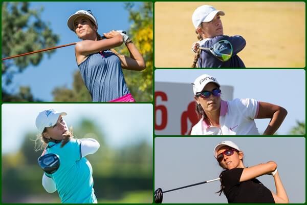En la imagen Noemí Jiménez,Silvia Bañón,Carmen Alonso,Elia Folch yMaría Beautell