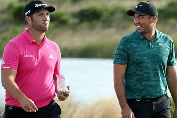 Jon Rahm y Jason Day jugarán juntos jueves y viernes en el Valspar. Foto: @PGATour