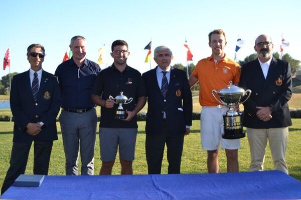 Foto de familia de la Copa S.M. El Rey 2019 celebrada en Las Colinas Golf