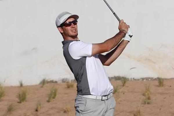 Miguel Ángel Jiménez Jr., es uno de los cinco españoles que buscan la tarjeta del PGA Tour China