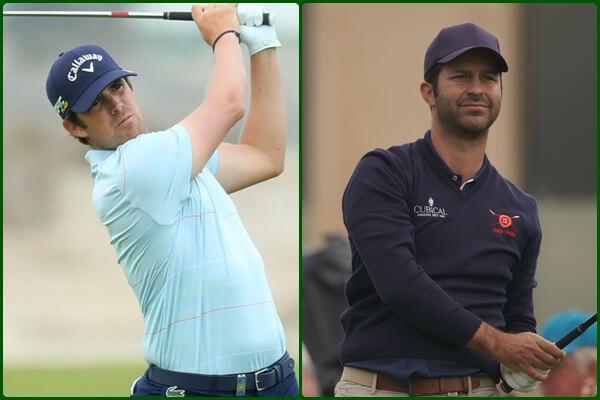 Nacho Elvira (izqda.) y Jorge Campillo lograron un gran subcampeonato en Qatar