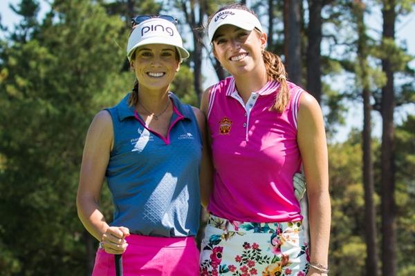 Noemí Jiménez y Silvia Bañón son dos de las cuatro españolas que superaron el corte en Canberra. Foto: LET