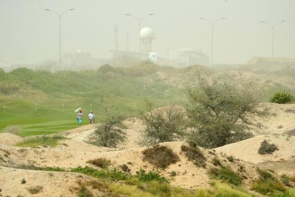 Oman Open Tormenta Arena @EuropeanTour