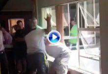 Vergonzosa pelea en la Casa Club de un campo sudafricano tras la disputa de un campeonato local