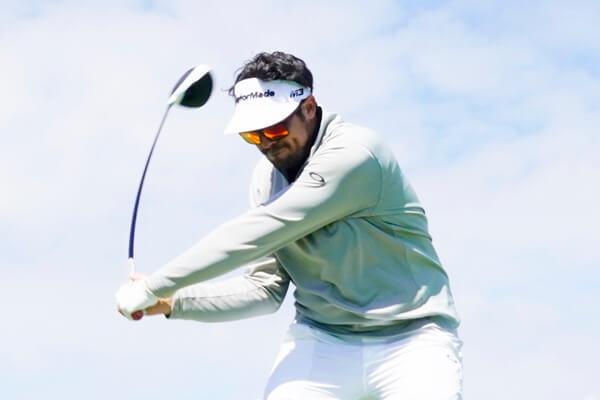 Samuel del Val en el pasado Open de España pondrá rumbo al PGA Tour China