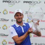 08 19 04 26 Jan Cafourek campeon en el Haugschlag NÖ Open del Pro Golf Tour