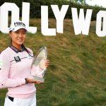 10 19 04 29 Minjee Lee campeona en el HUGEL-Air Premia LA Open de la LPGA