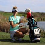 19 03 31 Jillian Hollis campeona en el IOA Championship del Symetra Tour