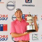 19 04 22 John Somers campeon en el Abierto de Chile del PGA Tour Latinoamérica
