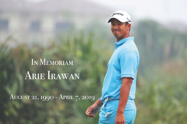 "Aire Irawan ""In Memoriam"". Foto: @PGATOURChina"