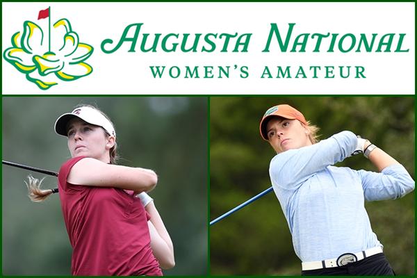Ainhoa Olarra y Marta Pérez estarán esta semana en el Augusta National