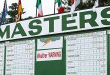 El tiempo altera el Masters. Se adelanta la ronda final, partidos de tres y se saldrá por los dos tees