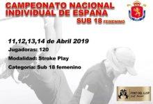 La élite del golf femenino Sub 18 se da cita esta semana en el recorrido alicantino de Font del Llop