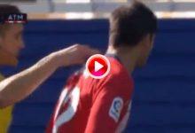 ¿Colleja o un simple toque en el cuello? Esta fue la acción que provocó el tremendo enfado de Morata