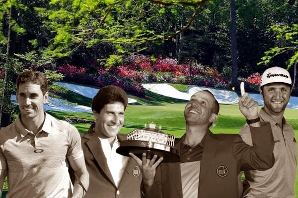 De nuevo cuatro españoles estarán sobre la hierba de Augusta