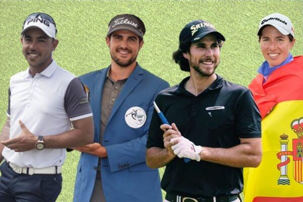 García, Del Val y Puig salieron de sus torneos con un Top 10 bajo el brazo y Ciganda fue la que más sumó esta semana