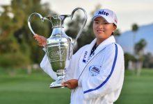 """Jin Young Ko, número 1 del mundo, vuelve a la LPGA un año después: """"Estoy un poco nerviosa"""""""