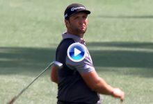 El Golf es duro… Rahm sufrió en sus carnes la presencia del innombrable socket en el hoyo 8