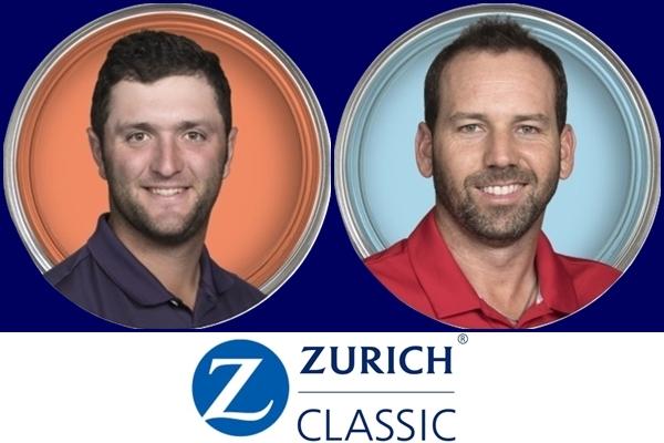 Jon Rahm y Sergio García son los españoles esta semana en el Zurich Classic