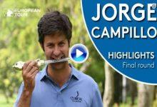 229 torneos después, Campillo gana en el European Tour. Así fue la ronda ganadora de Jorge en Rabat