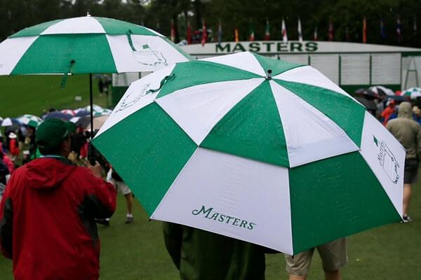 El viento y la lluvia podrían ser los grandes protagonistas en Augusta esta semana. Foto: @EagleStarNET