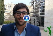 Mario Galiano felicita a OpenGolf en su aniversario. Fue el 1er español en llegar a nº1 europeo amateur