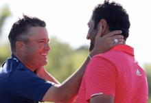 Rahm y Palmer escriben otra página entre esas extrañas parejas que consiguen maravillar al golf