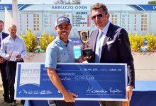 Sebastián García se lleva a casa el Abruzzo Open del Alps en Italia y ya es líder en la Orden de Mérito