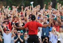"""Tiger Woods bromea sobre el final que se vivió en Augusta: """"Ya sé por qué me estoy quedando calvo"""""""