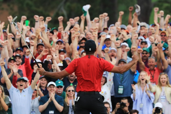 Tiger Woods Publico Masters 19 Winner