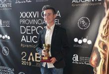 El golfista Tomy Artigas, elegido Mejor Deportista Promesa de la provincia de Alicante por tercera vez