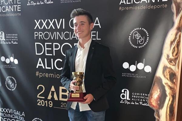 Artigas recibió por tercera vez el premio a mejor deportista Promesa