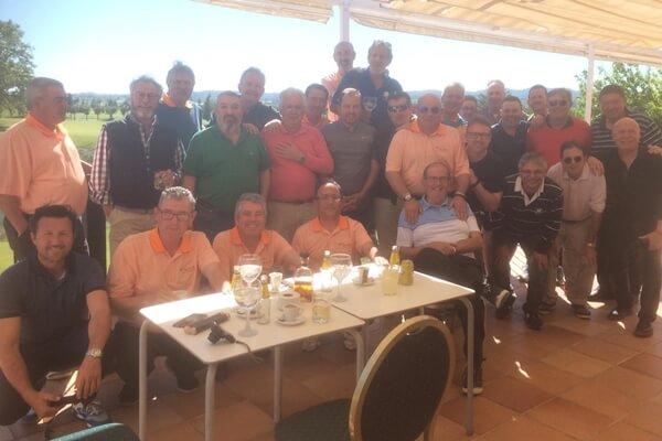Miembros del Club de Golf Valle de las Uvas