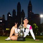 19 05 04 Nuria Iturrioz campeona en el Omega Dubai Moonlight Classic del Ladies European Tour