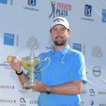 19 05 05 Cristobal del Solar campeon en el Puerto Plata Open del PGA Tour Latinoamerica