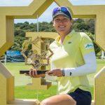 19 05 19 Celine Herbin campeona en La Reserva de Sotogrande Invitational del Ladies European Tour